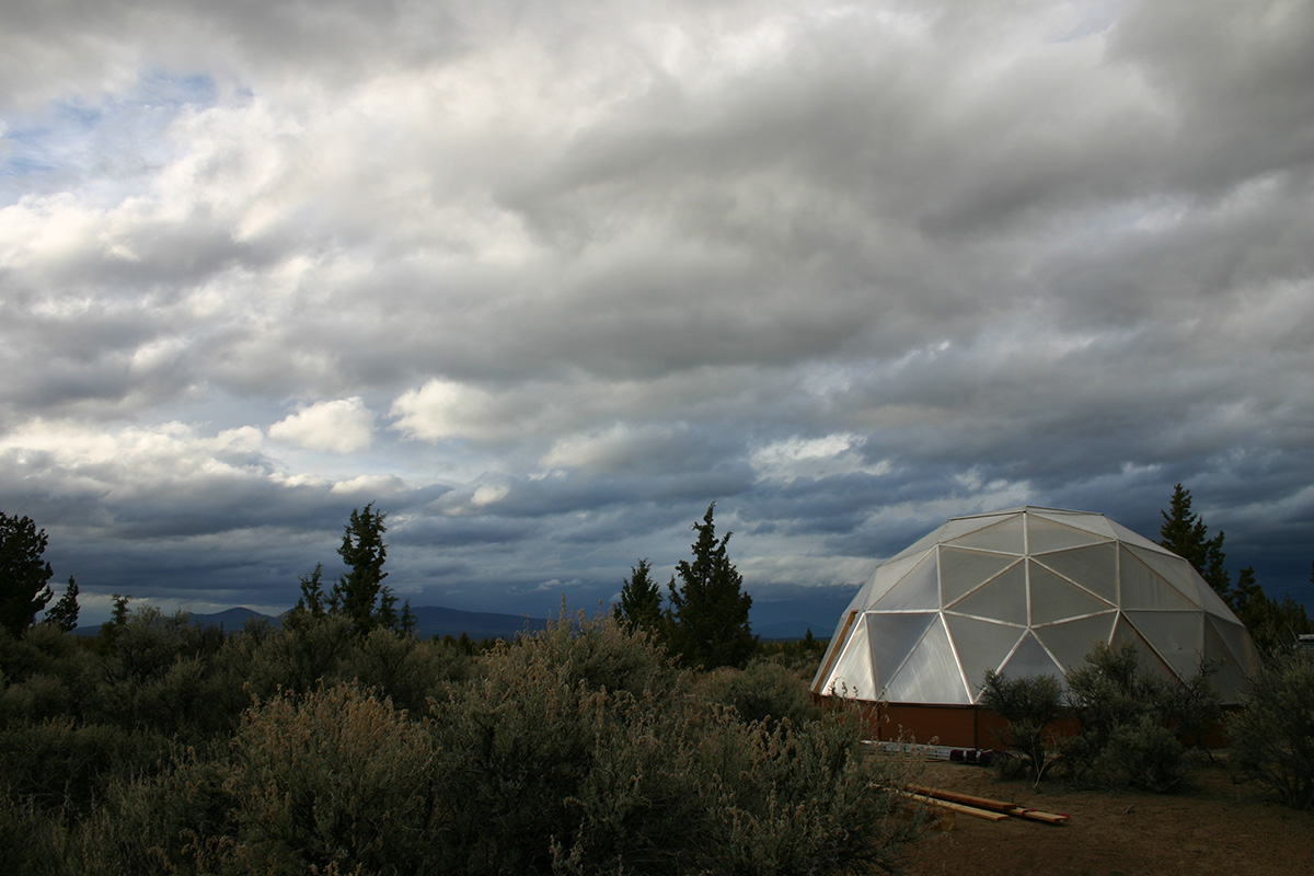 Solar Greenhouses Geodesic Dome Home