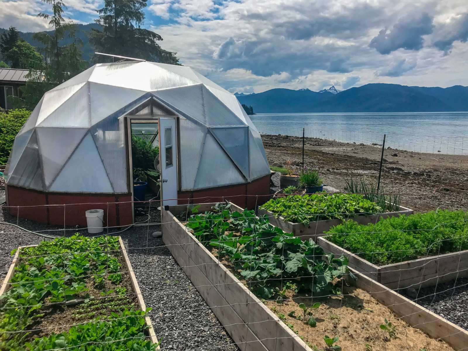 Alaska Dome Greenhouse