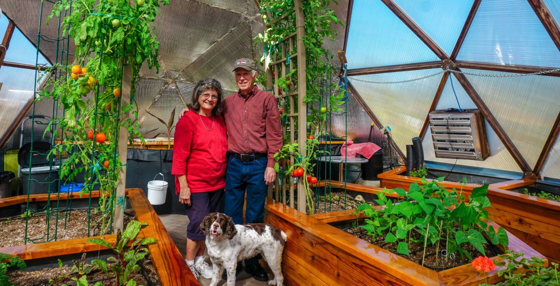 Colorado Springs Growing-Dome Greenhouse