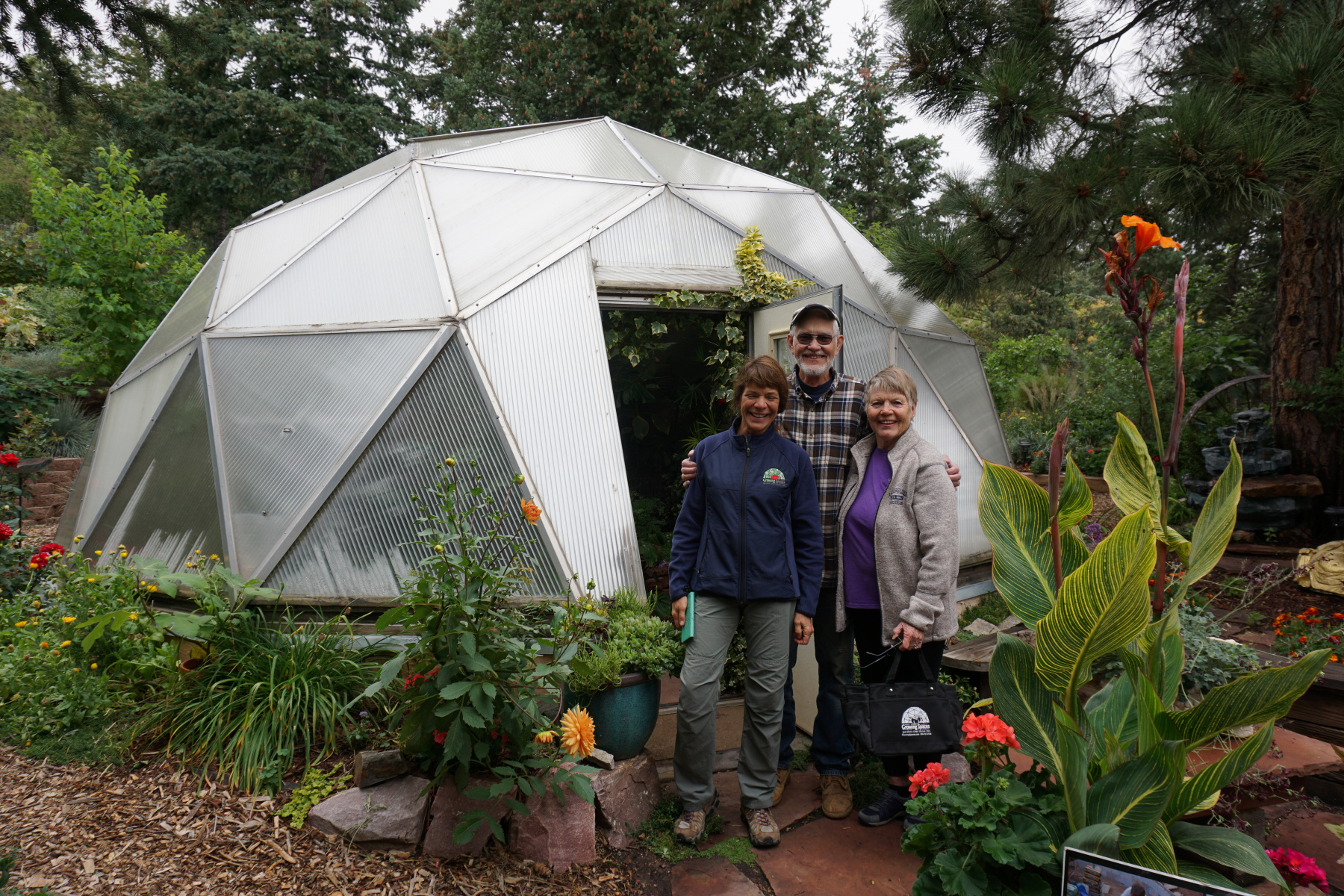Colorado Springs Geodesic Dome Greenhouse