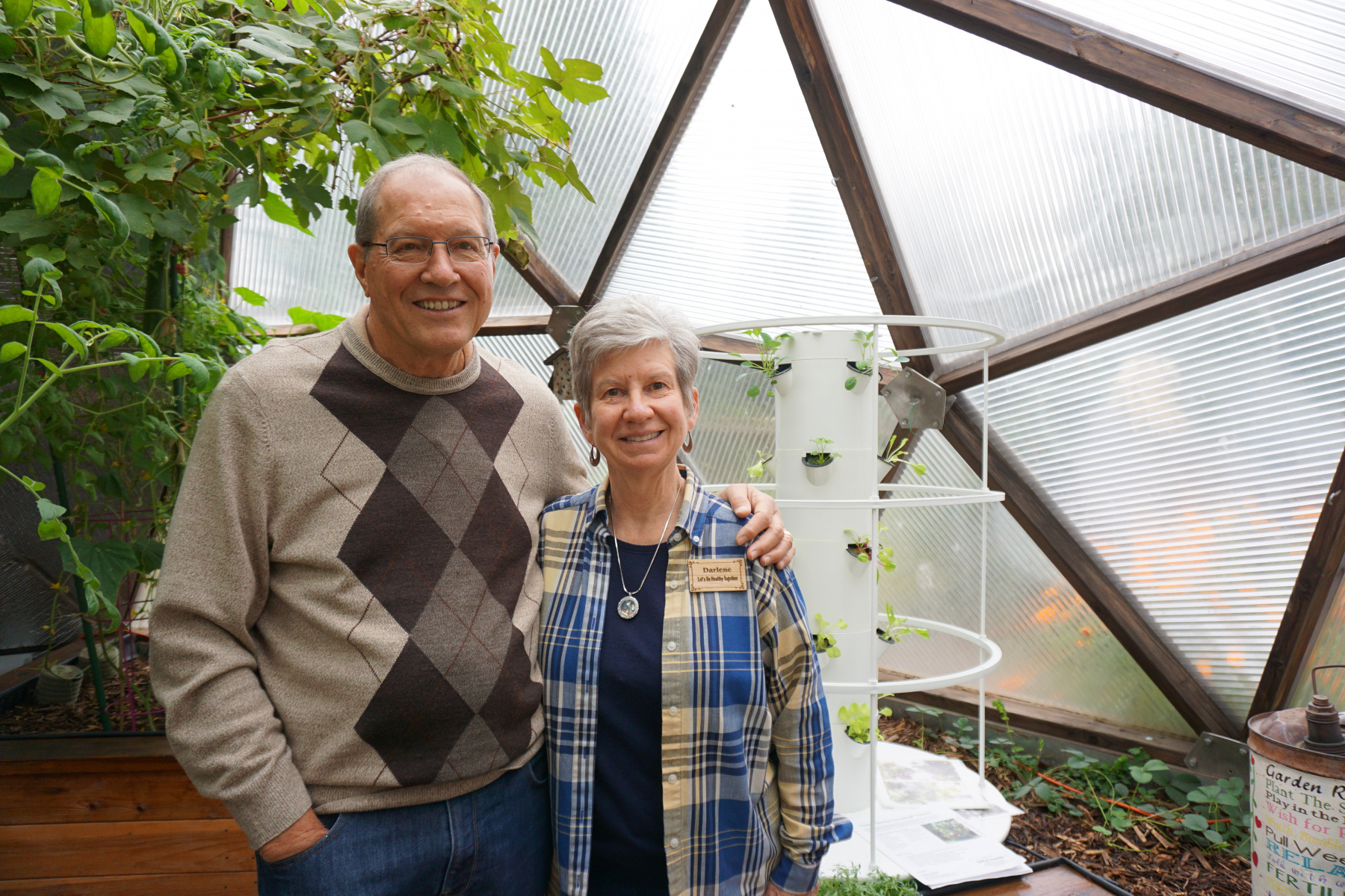 Geodesic Dome Greenhouse in Colorado Springs