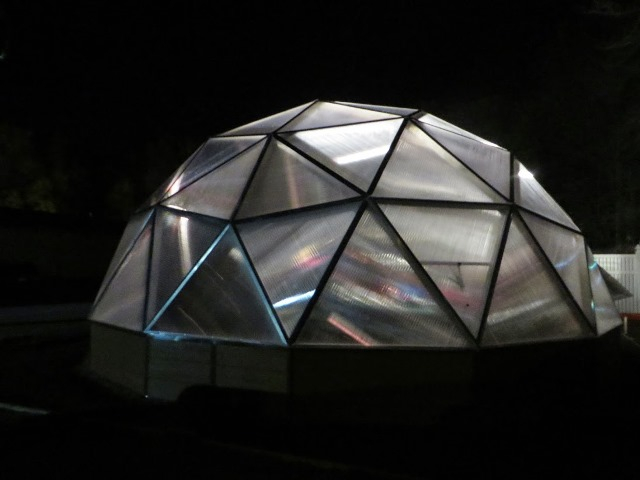 Evas Village Growing Dome Greenhouse