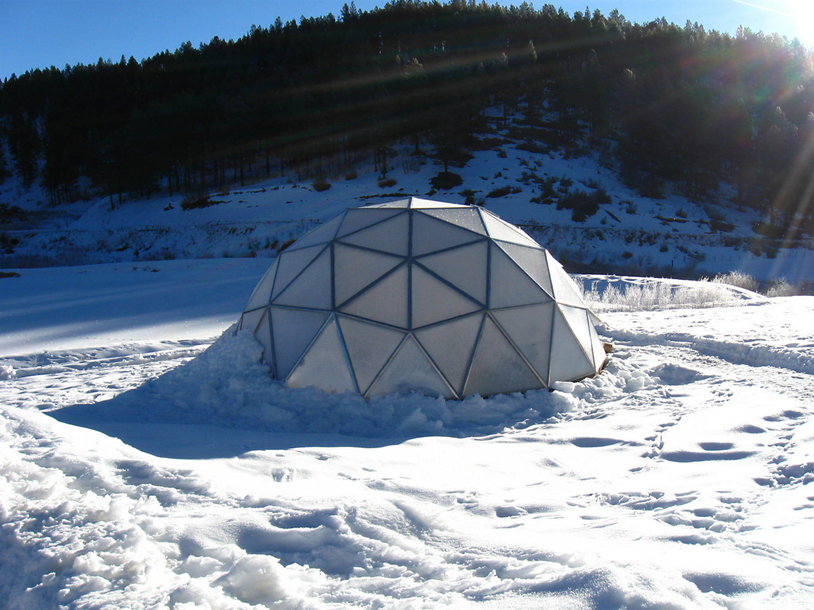 Greenhouse Design for Heavy Snow Loads