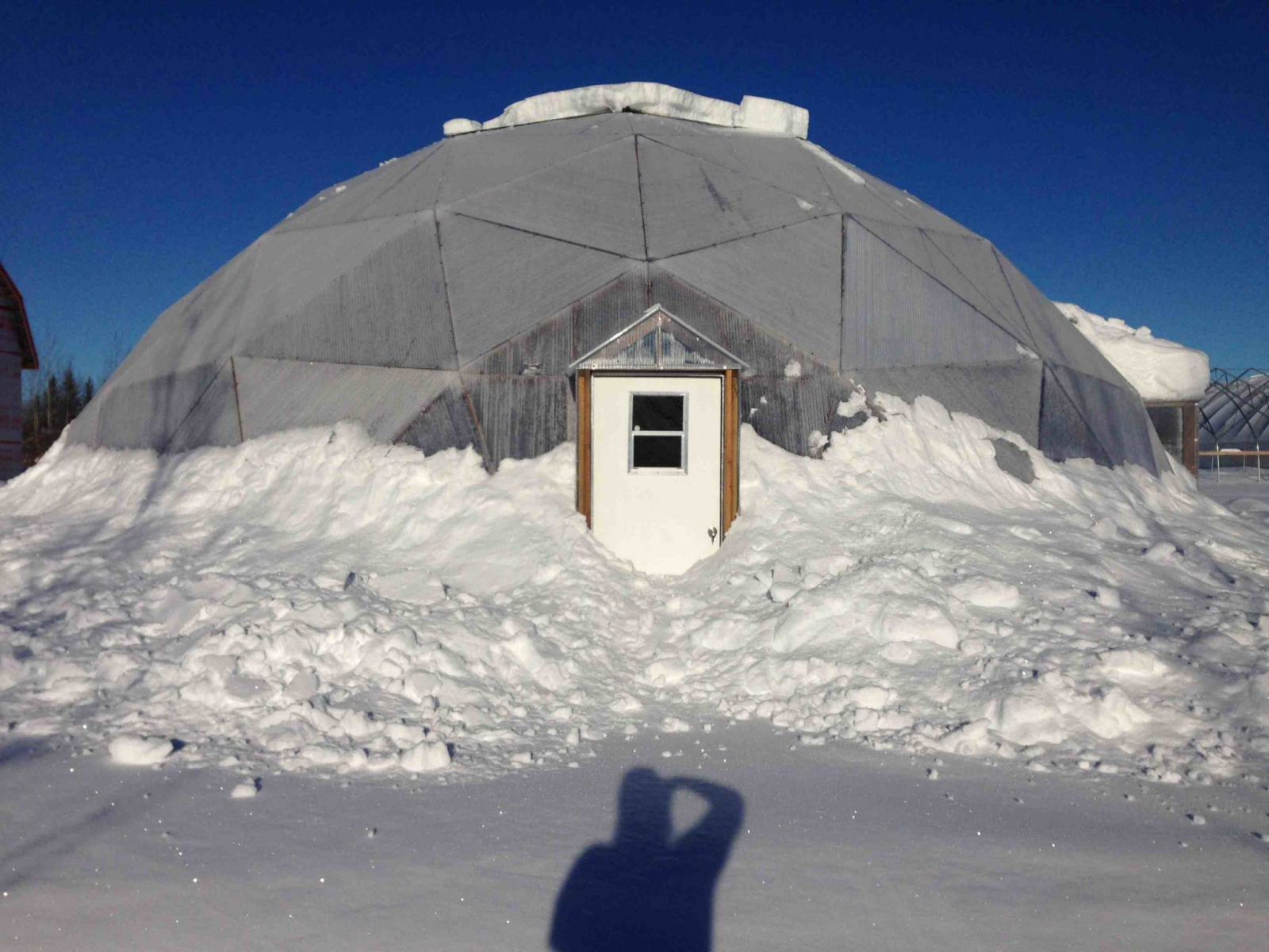 NFTI geodome greenhouse