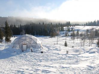 solar dome greenhouse 33