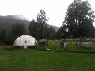 Backyard Dome Greenhouse