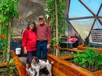Colorado Springs Growing-Dome Greenhouse