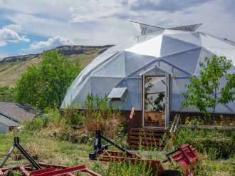 42' Growing Dome Greenhouse in Golden, CO