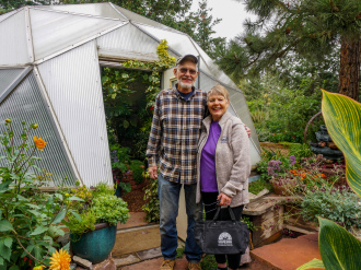 Growing Dome Greenhouse in Colorado Springs