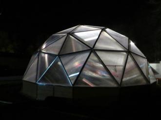 Evas Village Growing Dome Greenhouse