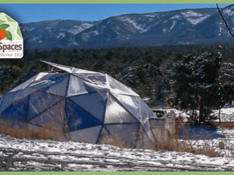 New Mexico Growing Dome Greenhouse