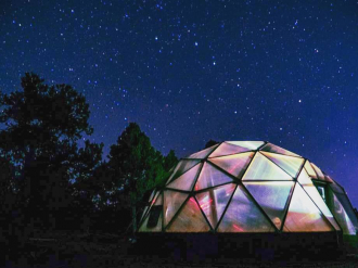 Starry Night Dome Greenhouse