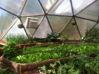 Sierra Food Hub Growing Dome Greenhouse