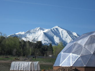 Growing Dome in Roaring Fork Valley