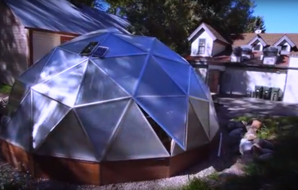 Farm to Table Geodesic Greenhouse