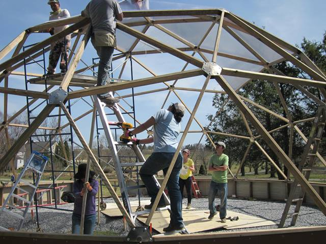 Building A Growing Dome