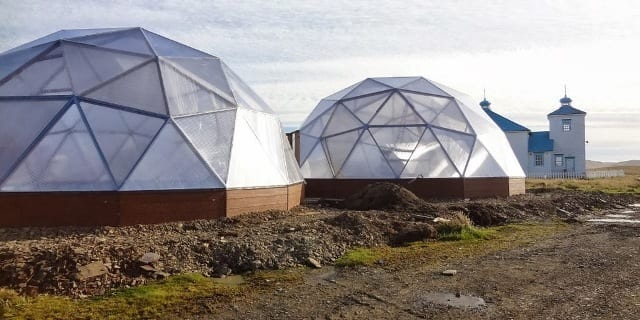 Alaska Greenhouses on the Aleutian Islands
