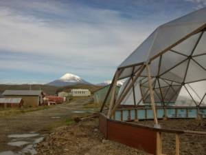 growing dome greenhouse in bering sea