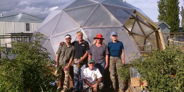 Colorado Greenhouse Construction at Library