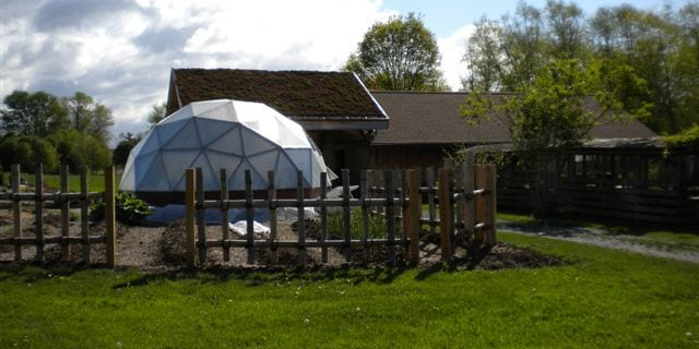 Geodesic Dome Greenhouses