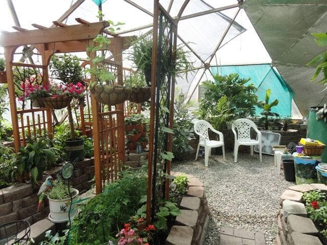 33 foot Growing Dome Greenhouse in Canadda