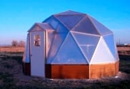 Geodesic Dome Greenhouse Shape