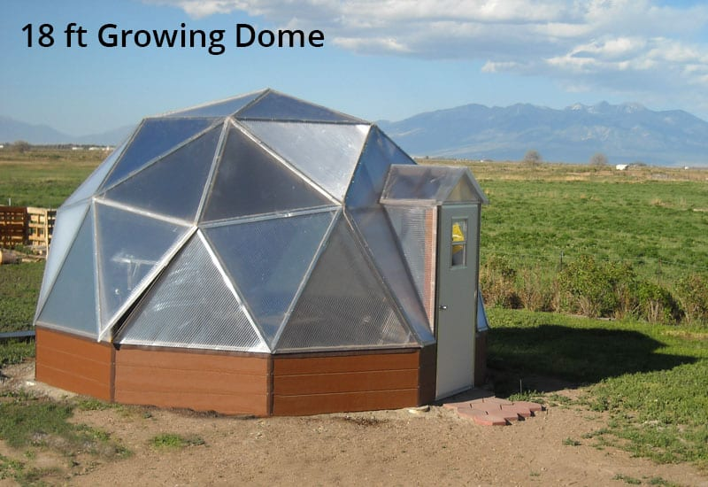 small greenhouse - Dome Greenhouse Designs