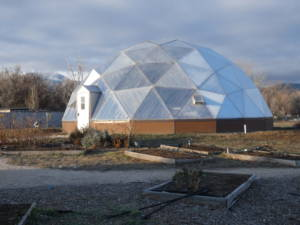 Aquaponics in a Growing Dome