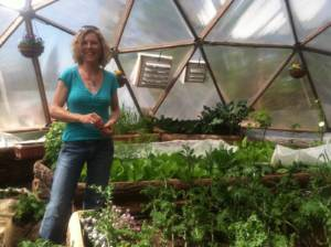 Growing Dome Greenhouse in Truckee, California