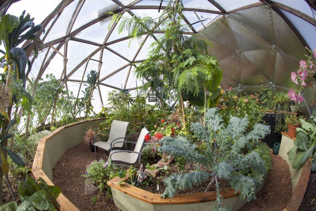 solar greenhouse design
