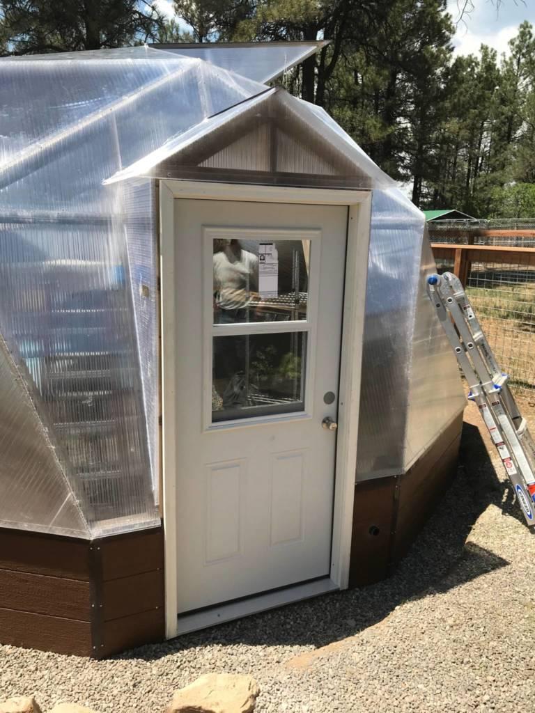 Extra Greenhouse Door, Snowshed Doorway, Greenhouse Accessories