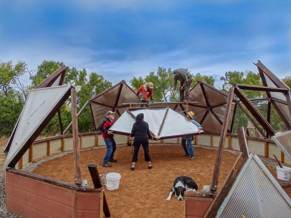 DIY Geodesic Greenhouse Build