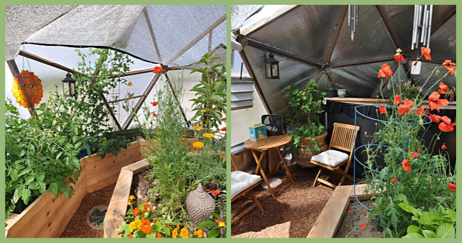 Summer Idaho Growing Dome