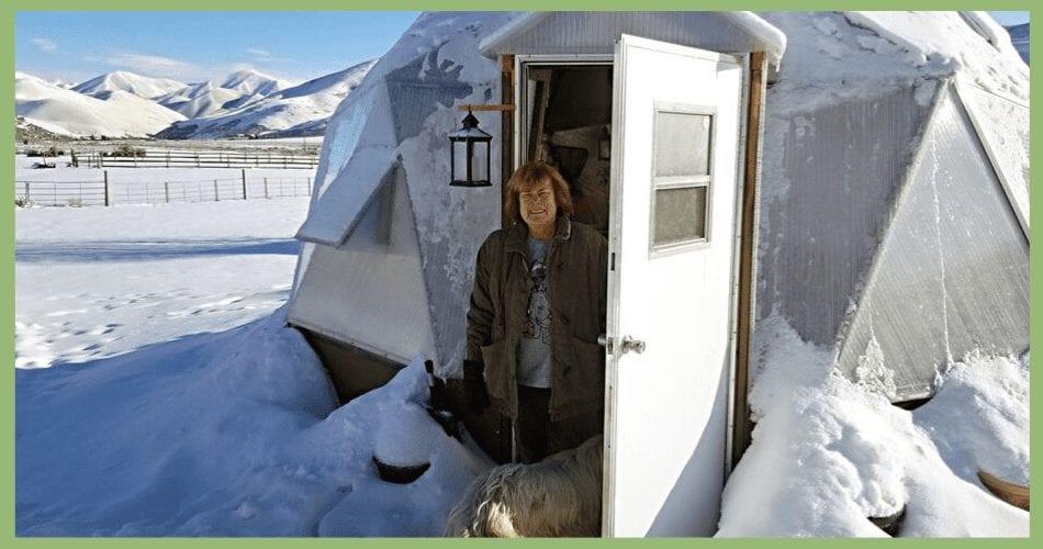 Idaho Winter Growing Dome