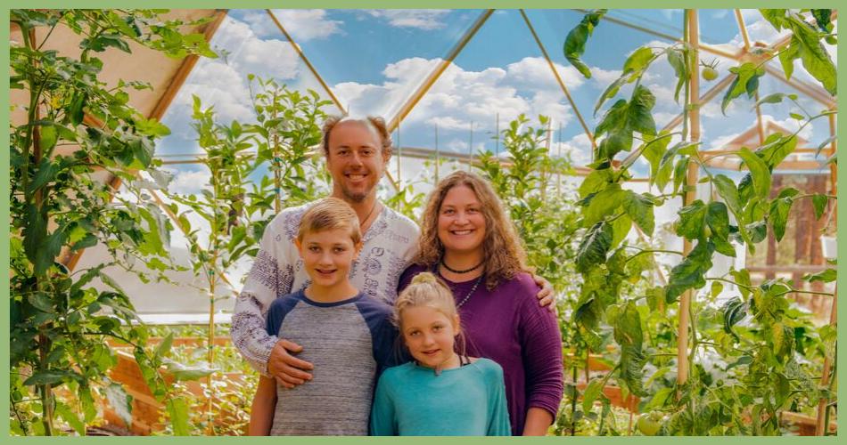 Restaurant Greenhouse owners, the Taspen family