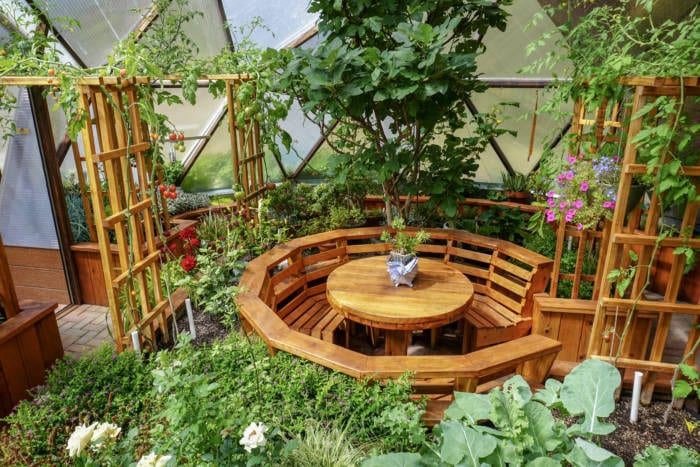 Dome Greenhouse Table