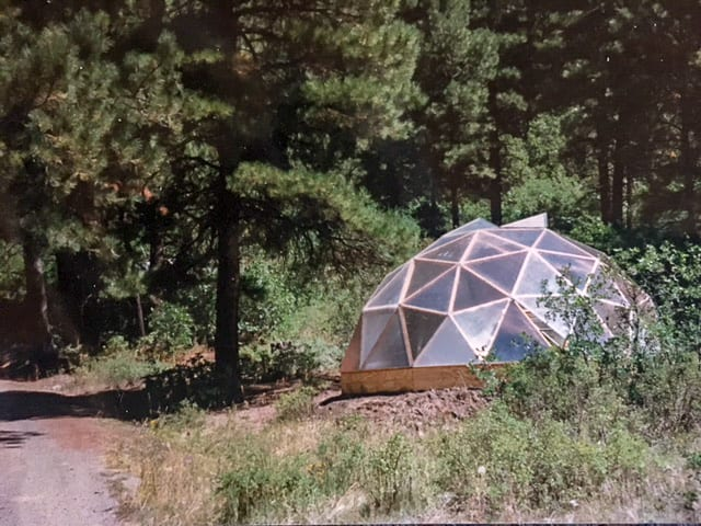 22 foot Growing Dome, 30 yers old and still gardening year-round