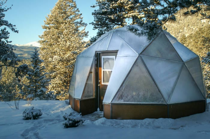 High Altitude Gardening in a Growing Dome Greenhouse