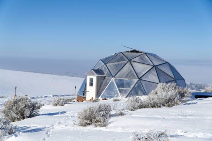 Idaho Winter Greenhouse