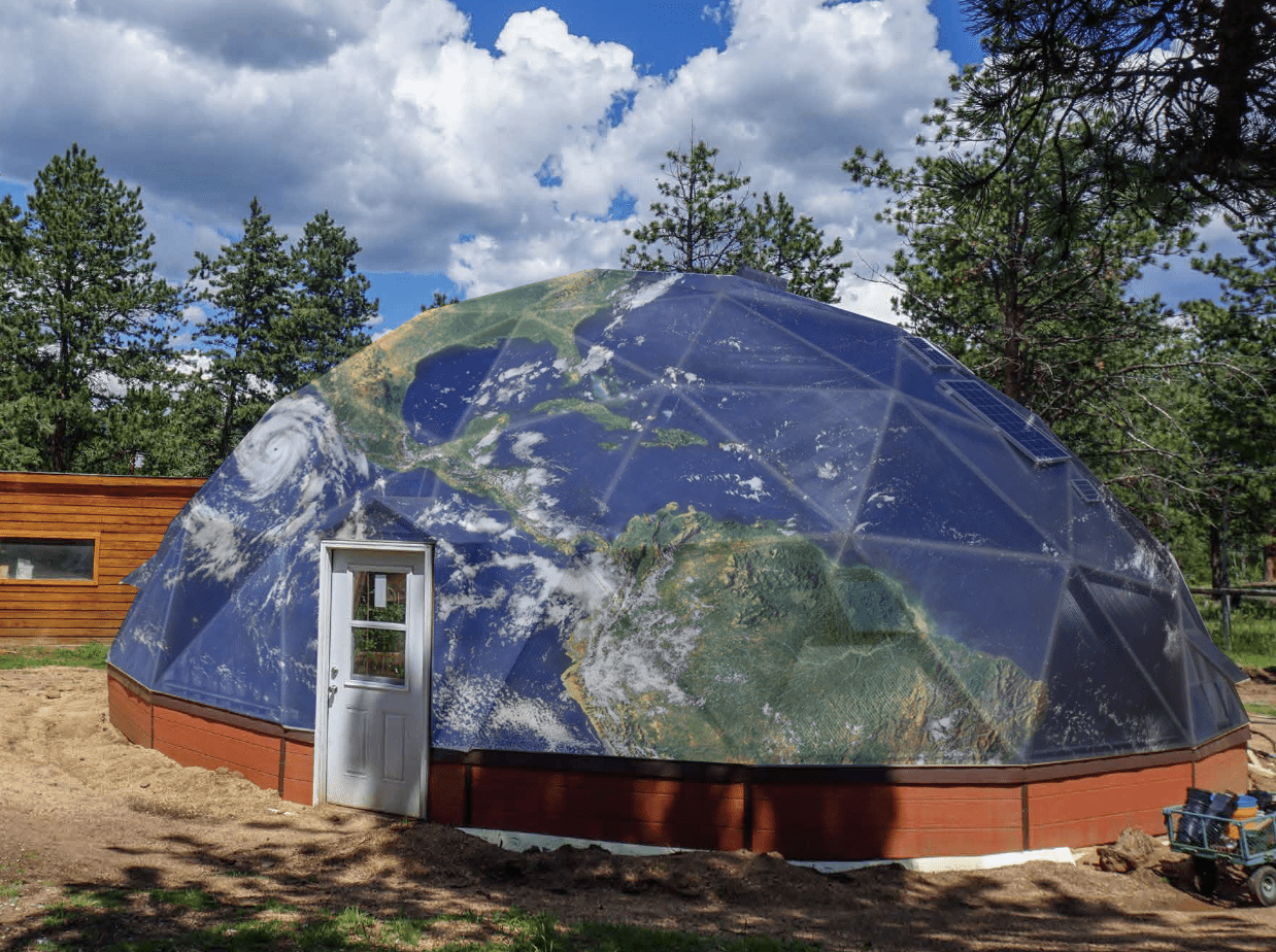 Earth Day Dome Greenhouse