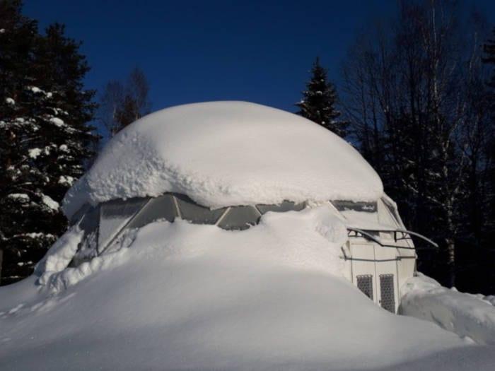 Biodome Greenhouse in Sweden