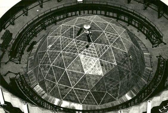 Ford Rotunda geodesic dome