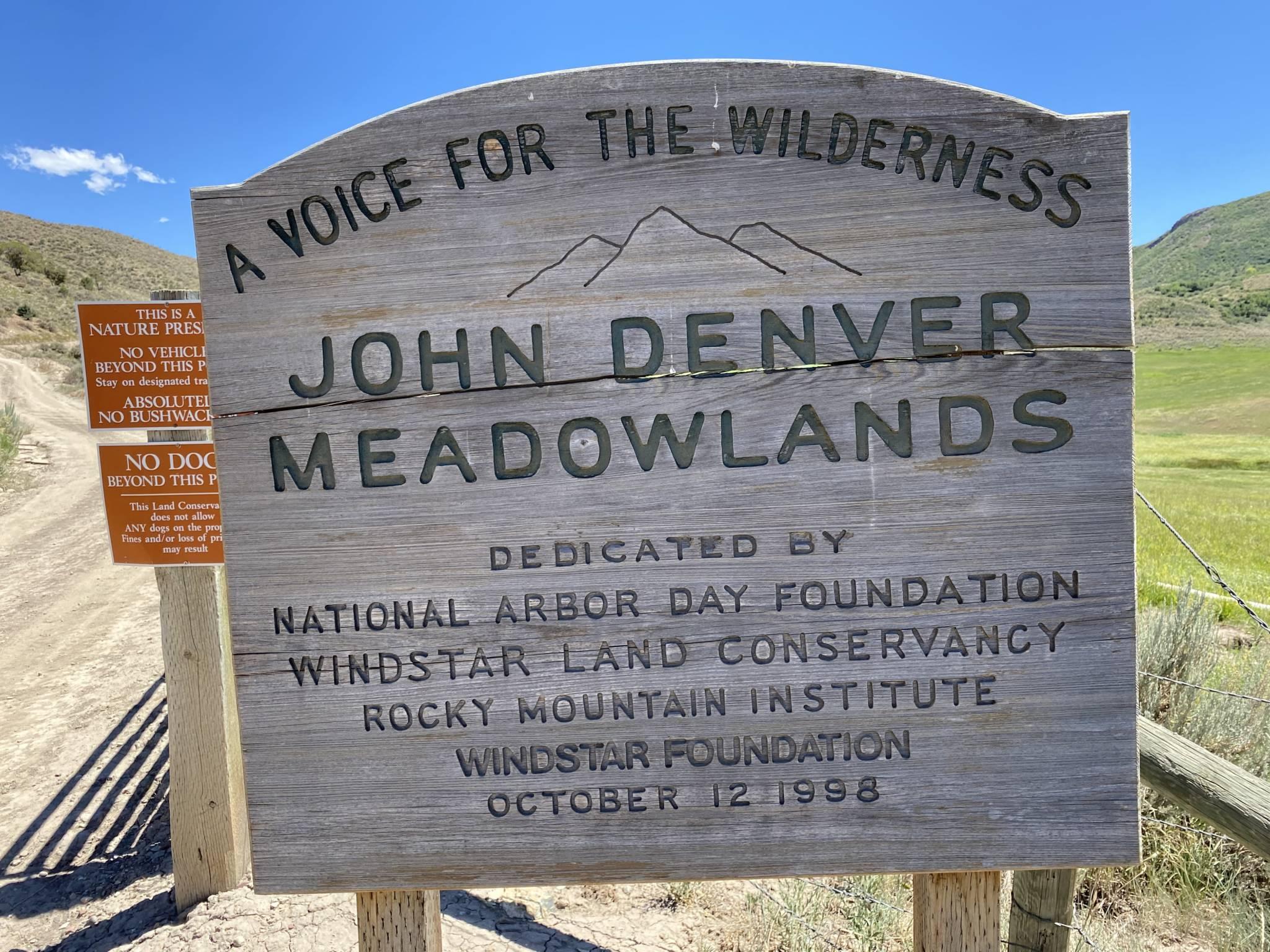 John Denver Meadowlands