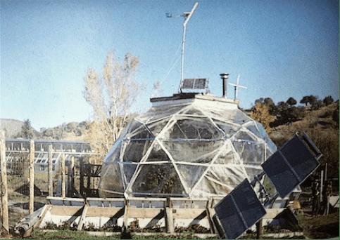 Original Windstar Biodome, Buckminster Fuller's last geodesic dome design